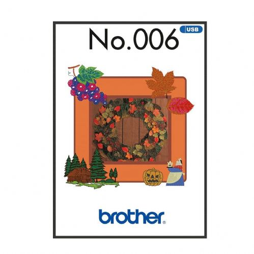 Brother Embroidery Sewing Machine Memory USB Stick BLECUSB6 Autumn Collection A090.USB6